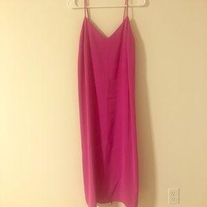 Hot Pink ASOS Dress